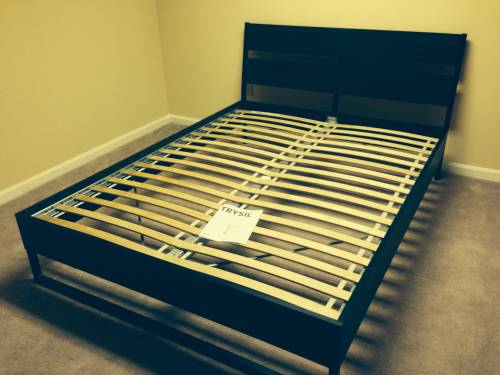 IKEA TRYSIL Bed frame assembly service in Baltimore MD