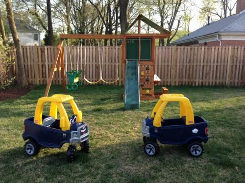 Backyard Play Set Assembly Service in Lorton VA
