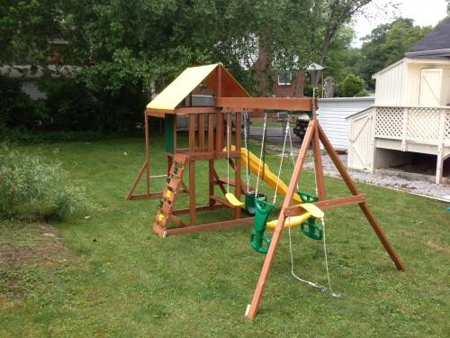 Cedarbrook Swing Set Installation Service In Fort Lincoln DC