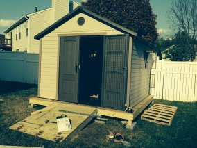 shed assembly in silverspring maryland