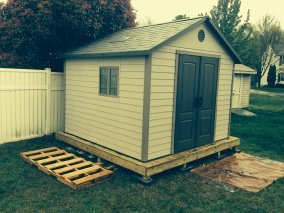 shed installation in silverspring maryland