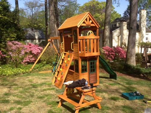 Backyard Discovery Play Set Assembly Service In Towson MD