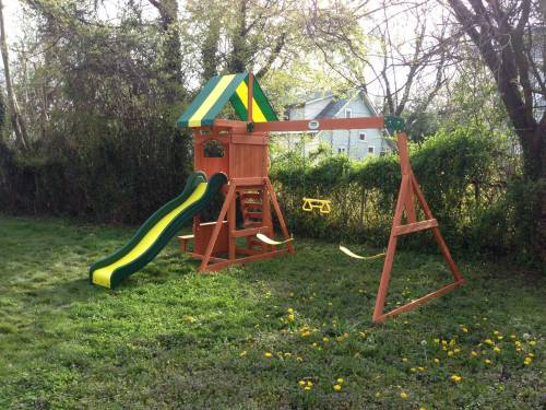 Discovery Swing Set Installation in DC MD VA