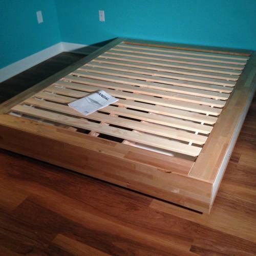 IKEA MANDAL Bed Frame Assembly Service in Laurel MD