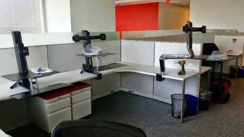 Lab Furniture Installation