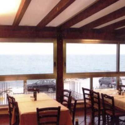 veranda per ristorante