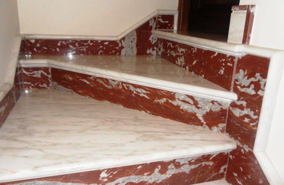Scale in marmo, Napoli, Campania, Panico Marmi, Cercola