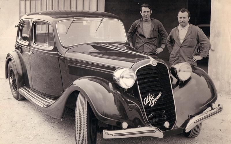 Ripristino auto d epoca