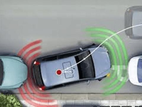 Installazione sensori di parcheggio auto