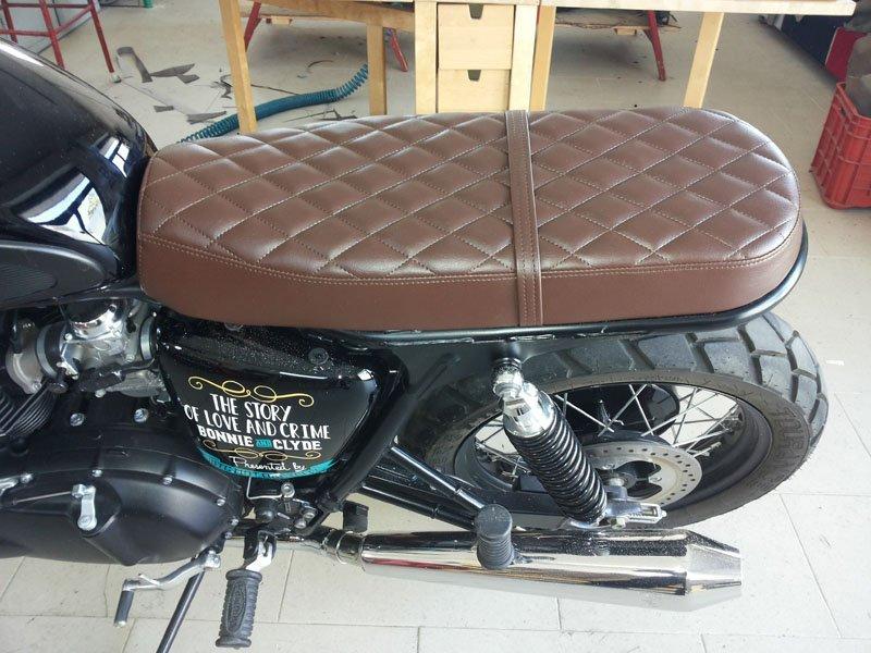 sella moto vintage