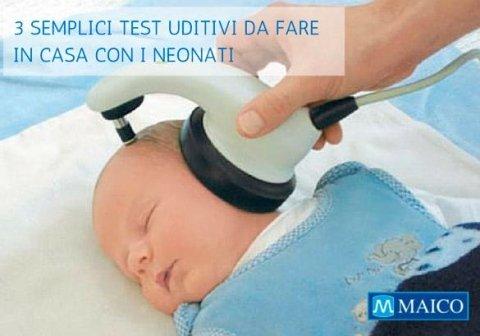 test uditivo per il tuo bambino