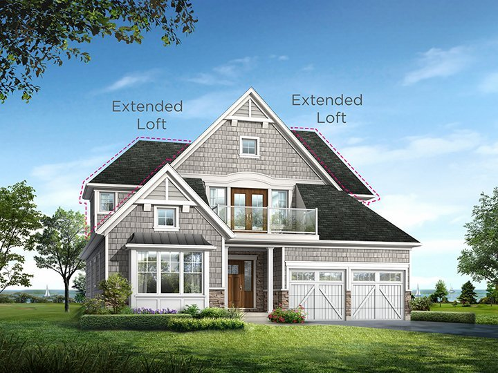 Hartford with Extended Loft