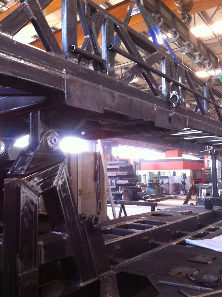 primo piano di macchina per lavorazione metallo