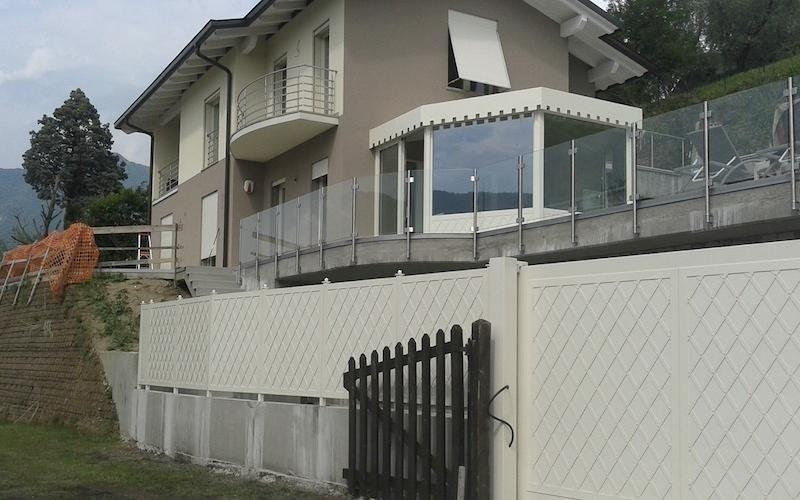 realizzazione recinzioni per ville