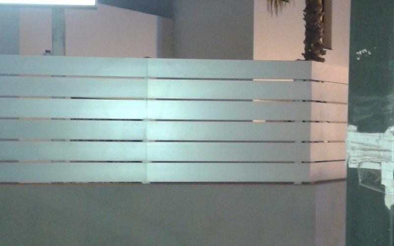recinzione metallo