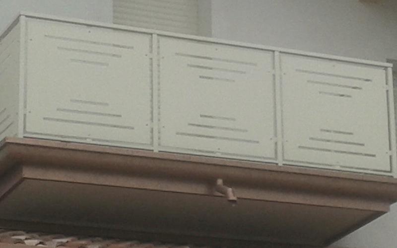 parapetto per balconi