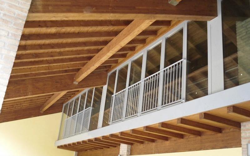 montaggio finestre per soppalchi