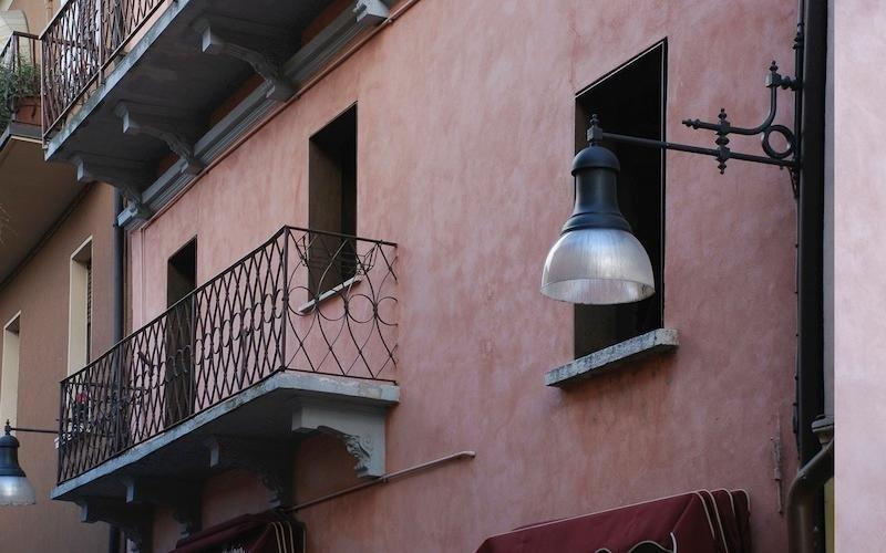 ringhiere su misura per balconi