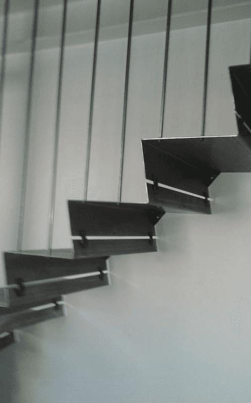 gradini scale in ferro