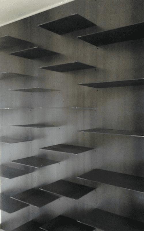 mesole in metallo su misura