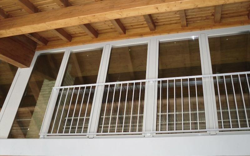 finestre e ringhiere in alluminio brescia