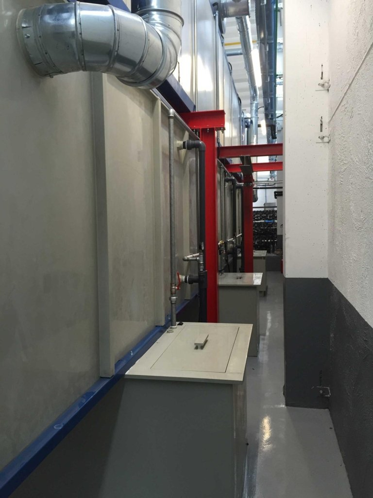 Vasche lavaggio tunnel