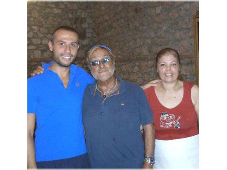staff con Lucio Dalla