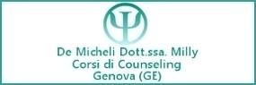 dottoressa Milly De Micheli Genova