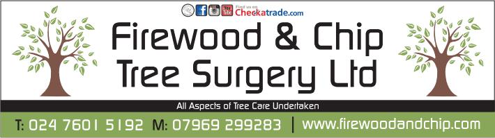 Firewood & Chip Tree Surgery Ltd logo