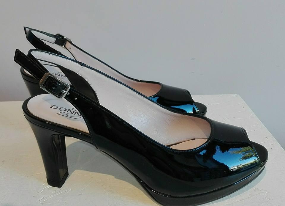 scarpe con il tacco nere - donna