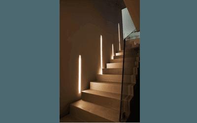 illuminazioni a parete