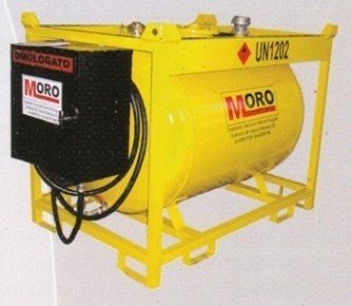 contenitori per gasolio, contenitori per olio, distributori omologati