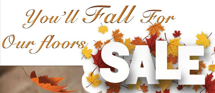 You'll fall for our floors sale. Up to 40% off and 24 month financing available OAC