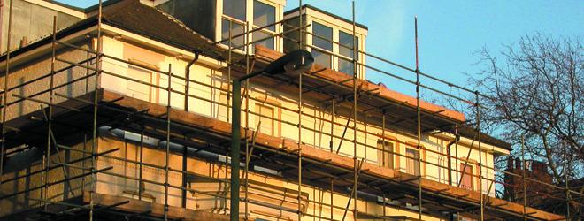 scaffolding companies - Ilford - Five Oaks Scaffolding Ltd - extra loft scaffold