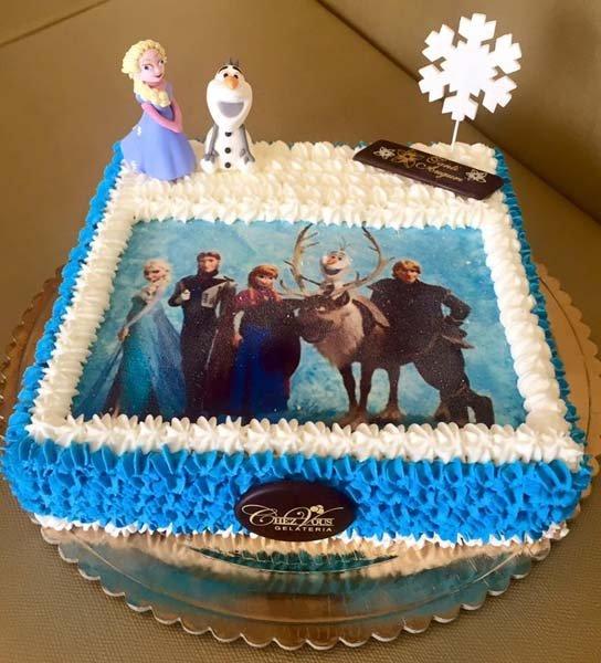 torta personalizzata cartone l'era glaciale