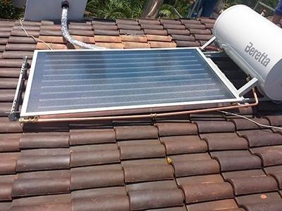 Solare circolazione naturale Impianti Montaguit