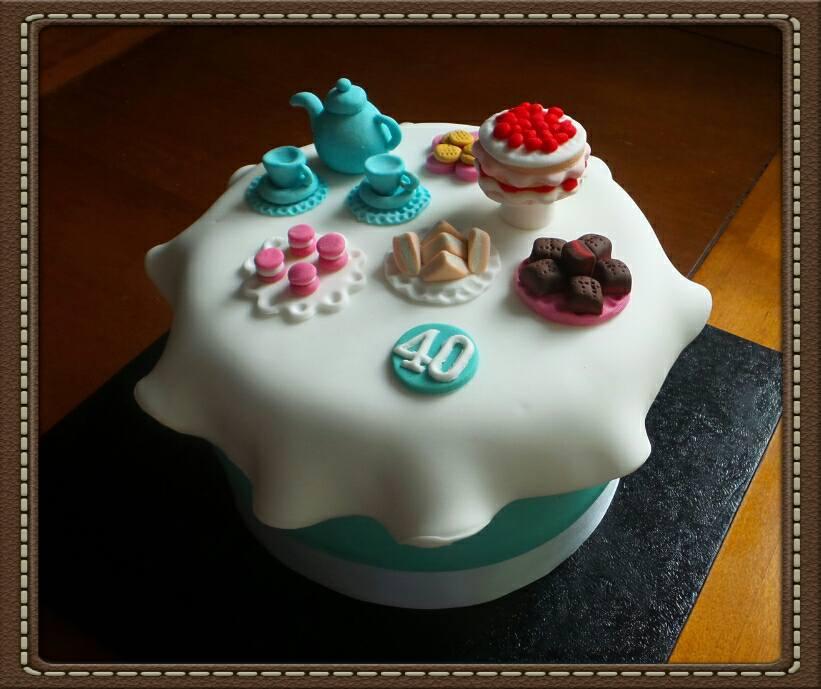 Minature Afternoon Tea Cake