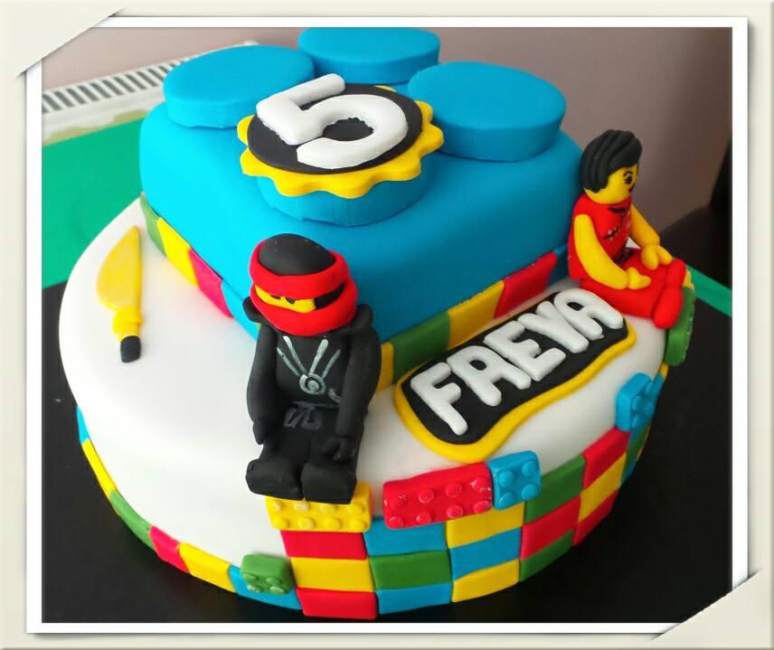 Lego-Ninjago- Cake