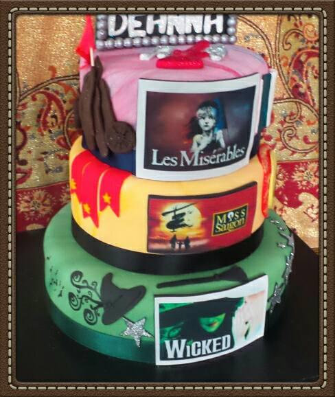 Musical Theatre Cake
