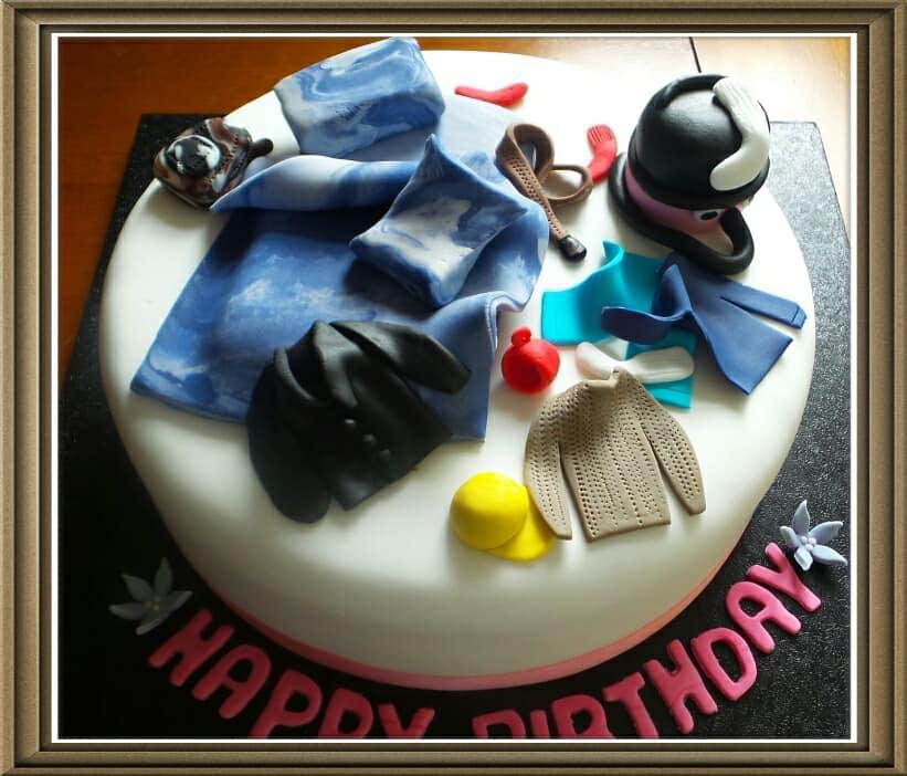 Humourous  Cake