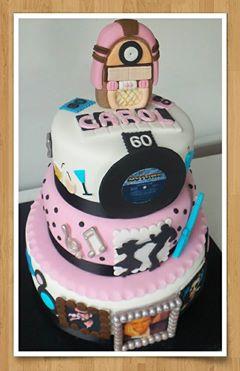 60s Jukebox Motown Cake