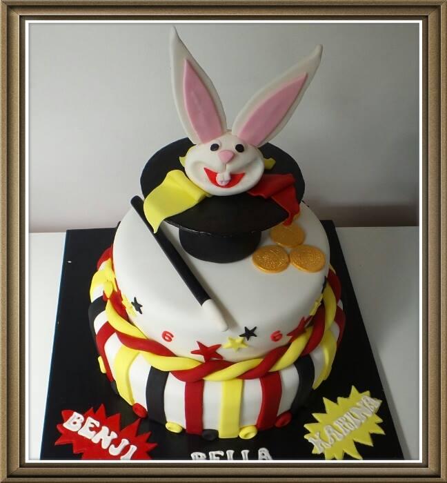 Magic Bunny Cake
