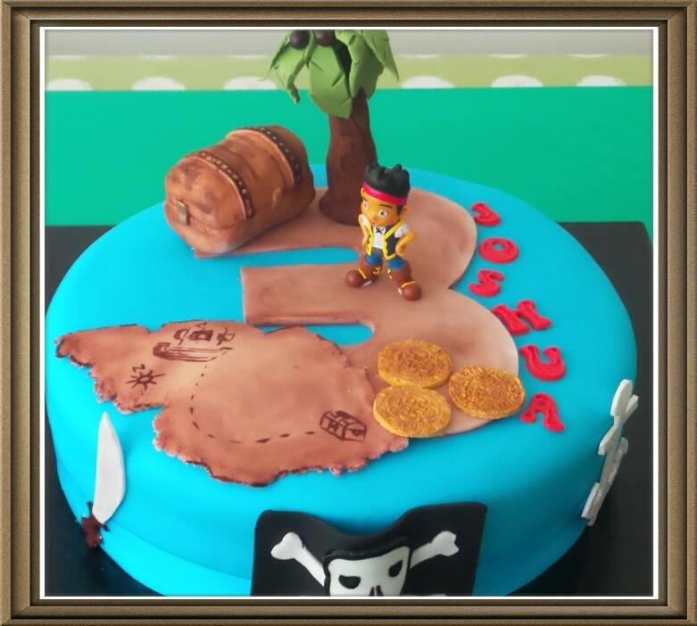 Pirate Jake Cake