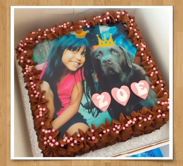 Photo Buttercream Cake