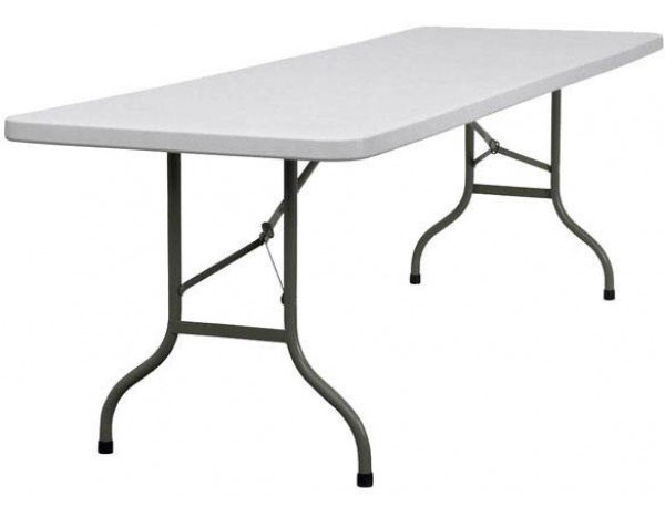 Trestle Table 1.2m seats 4 + ends $11.50, 1.8m seats 6 + ends $12, 2.4m seats 8 + ends $13.80 incl gst