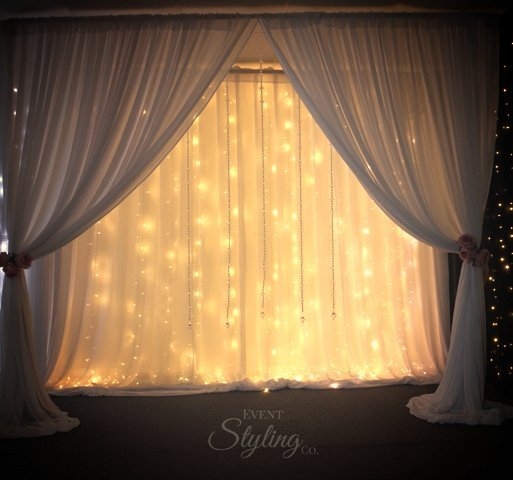 View of a room with lights