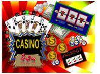 Backdrop Casino  3m x 2.3m $60 Incl frame & gst