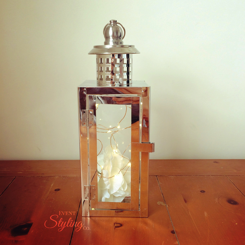 Chrome Lantern