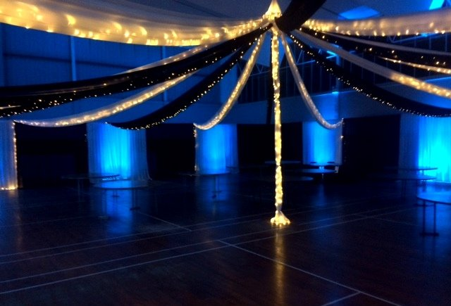 Event venue decorations