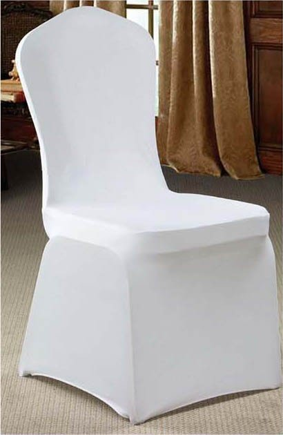 Lycra Chair Cover White $5 incl gst